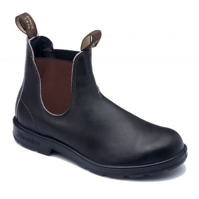 BLUNDSTONE 500 SIDE BOOT BROWN