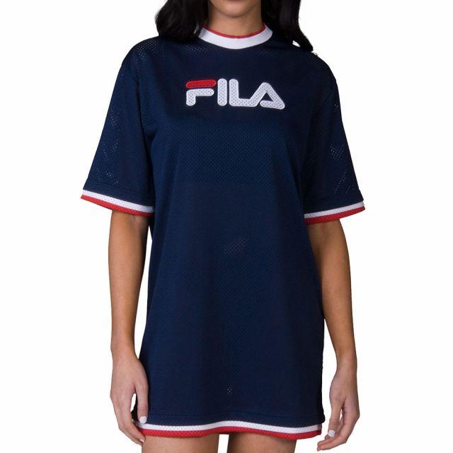 FILA T-SHIRT DREW MESH DRESS 684307