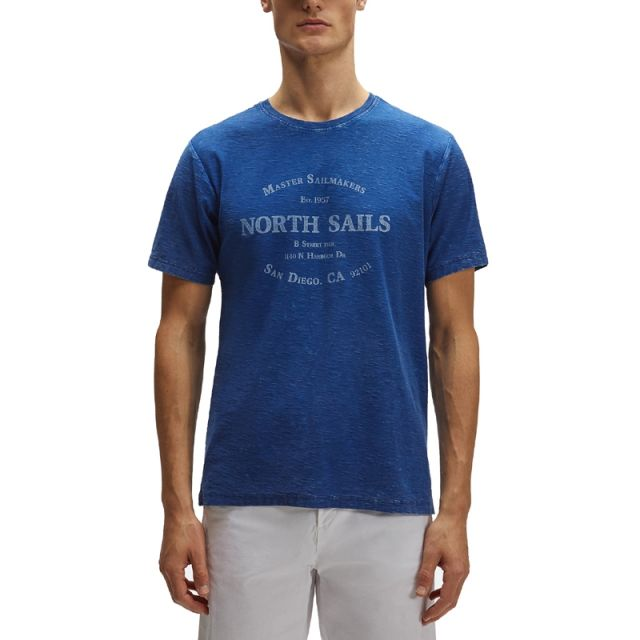 NORTH SAILS T-SHIRT UOMO GRAPHIC OCEAN 2708-790