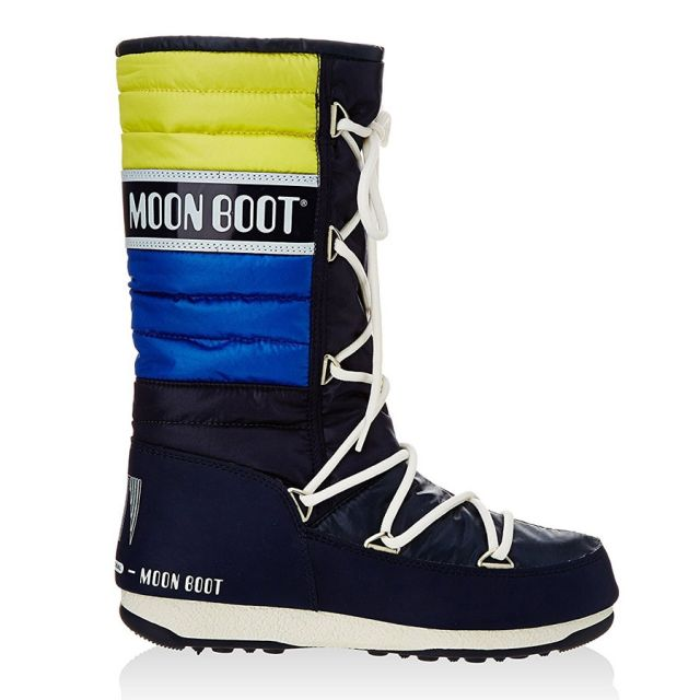 MOON BOOT WE QUILTED BLU