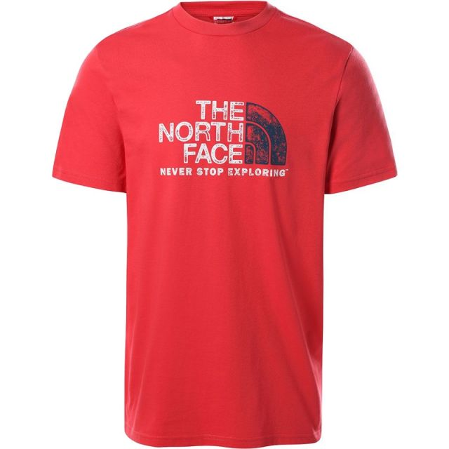THE NORTH FACE T-SHIRT RUST 2 NF0A4M68V341