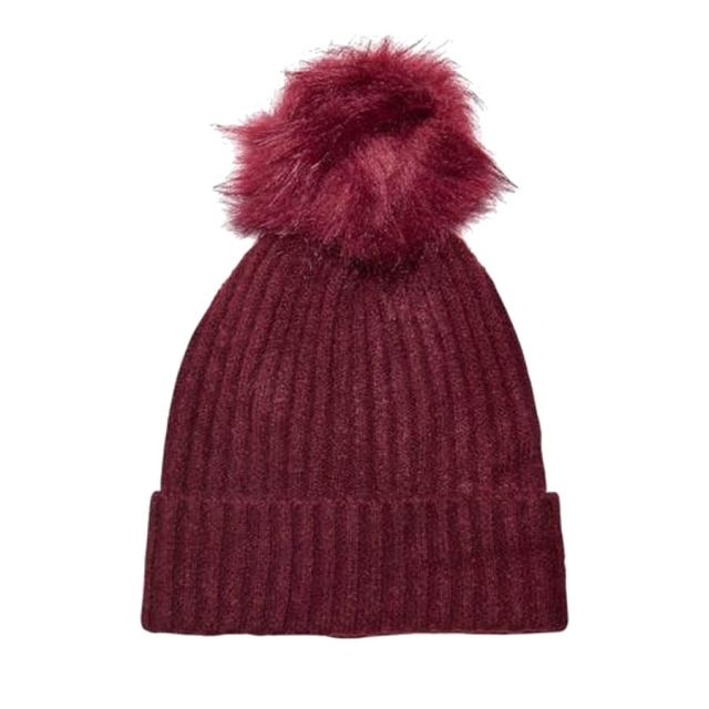 ONLY-CUFFIA-KNITTED-POMPOM-BEANIE-BORDEAUX-15165156