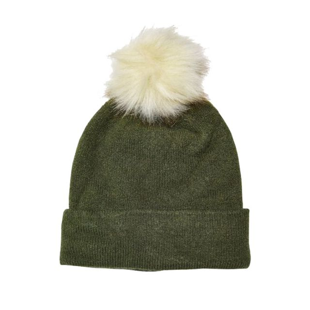 ONLY-CUFFIA-KNITTED-POMPOM-BEANIE-VERDE-15165156