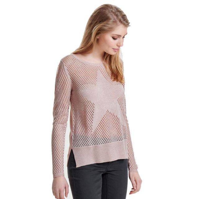 ONLY DETAILED KNITTED PULLOVER 15129664