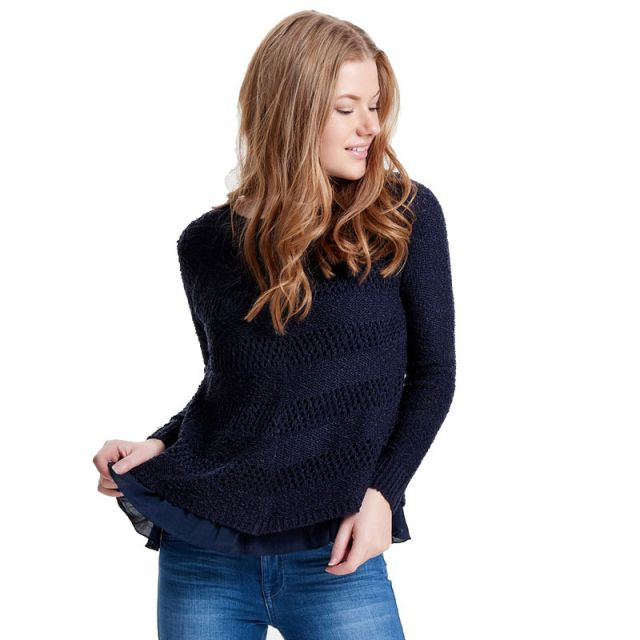 ONLY DETAILED KNITTED PULLOVER 15130091