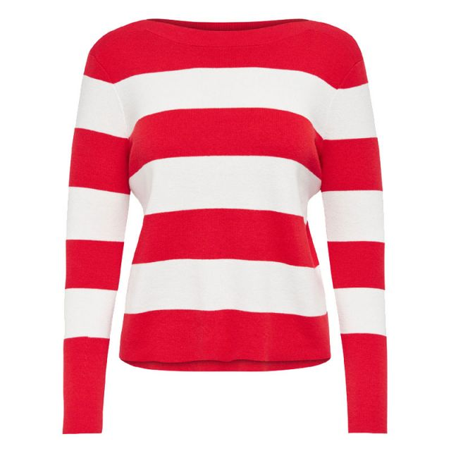 ONLY STRIPED KNITTED PULLOVER 15130104