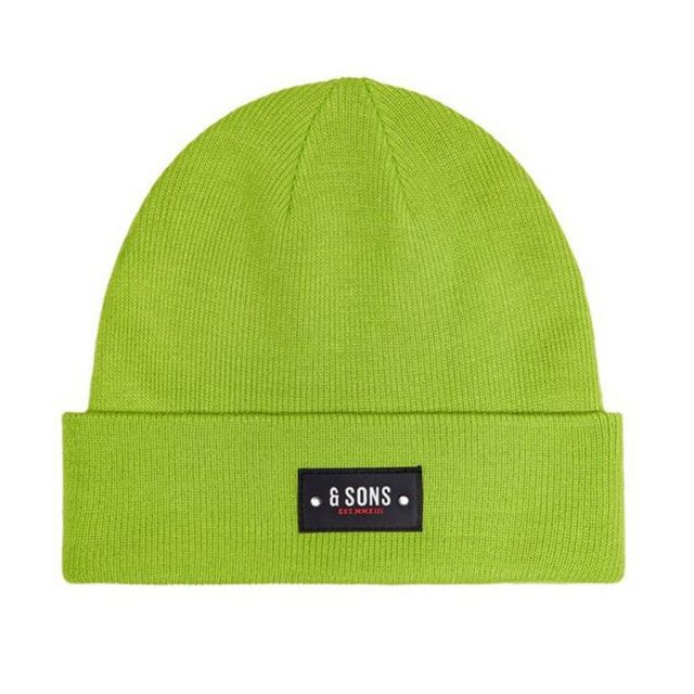 ONLY&SONS CUFFIA BADGE BEANIE 22014801