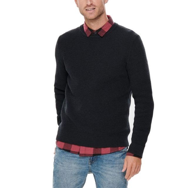 ONLY&SONS MAGLIONE TEXTURE KNITTED 22014052