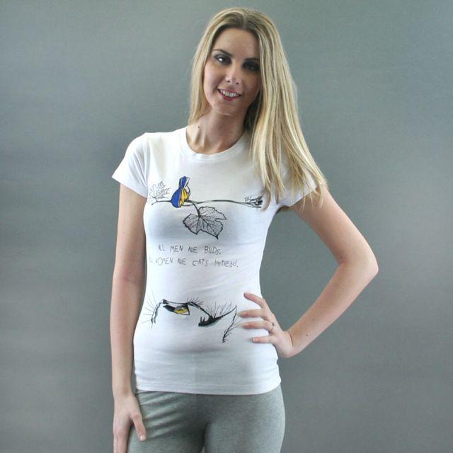 T-SHIRT COTONE mod. BIRDS